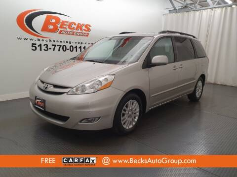 2010 Toyota Sienna for sale at Becks Auto Group in Mason OH