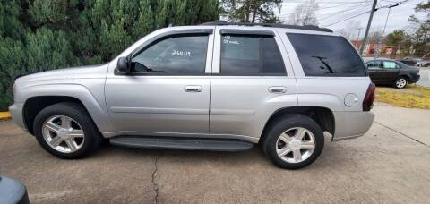 2008 Chevrolet TrailBlazer for sale at Tims Auto Sales in Rocky Mount NC