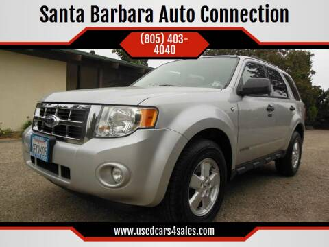 2008 Ford Escape for sale at Santa Barbara Auto Connection in Goleta CA