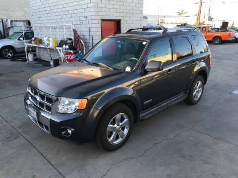 2008 Ford Escape for sale at OCEAN IMPORTS in Midway City CA