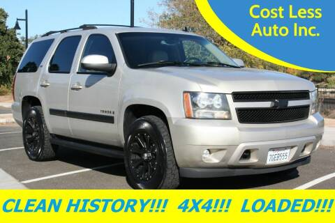 2007 Chevrolet Tahoe for sale at Cost Less Auto Inc. in Rocklin CA