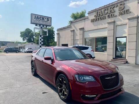 2018 Chrysler 300 for sale at JACK'S MOTOR COMPANY in Van Buren AR