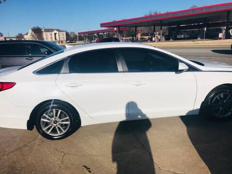 2017 Hyundai Sonata for sale at Pioneer Auto in Ponca City OK