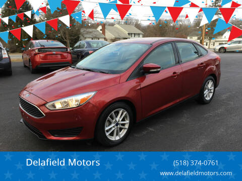 2016 Ford Focus for sale at Delafield Motors in Glenville NY