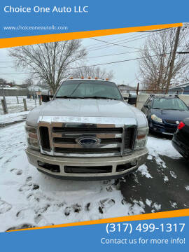 2008 Ford F-250 Super Duty for sale at Choice One Auto LLC in Beech Grove IN