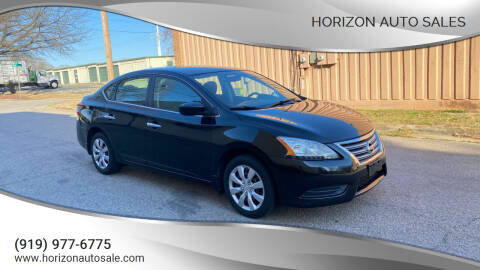 2013 Nissan Sentra for sale at Horizon Auto Sales in Raleigh NC