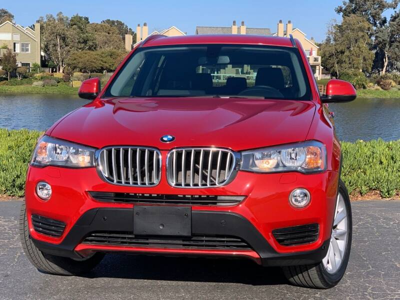 2017 BMW X3 for sale at Continental Car Sales in San Mateo CA