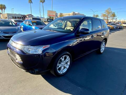 2014 Mitsubishi Outlander for sale at Charlie Cheap Car in Las Vegas NV