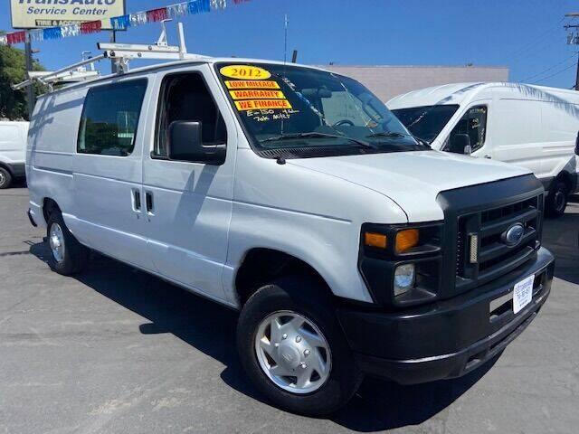 2012 Ford E-Series Cargo for sale at Auto Wholesale Company in Santa Ana CA