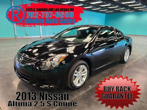 2013 Nissan Altima for sale at Reliable Auto Sales in Las Vegas NV
