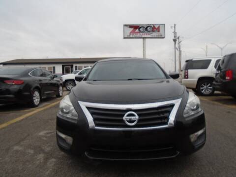 2015 Nissan Altima for sale at Zoom Auto Sales in Oklahoma City OK