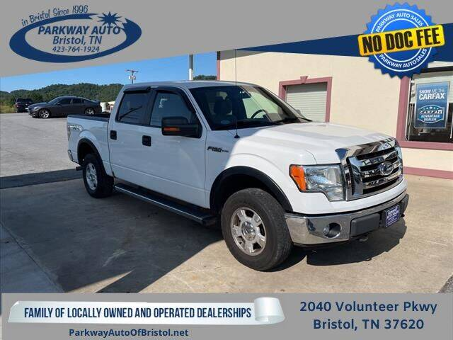 2012 Ford F-150 for sale at PARKWAY AUTO SALES OF BRISTOL in Bristol TN