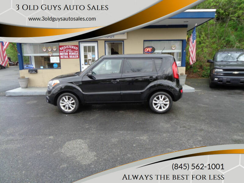 2012 Kia Soul for sale at 3 Old Guys Auto Sales in Newburgh NY