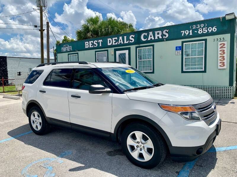2011 Ford Explorer for sale at Best Deals Cars Inc in Fort Myers FL