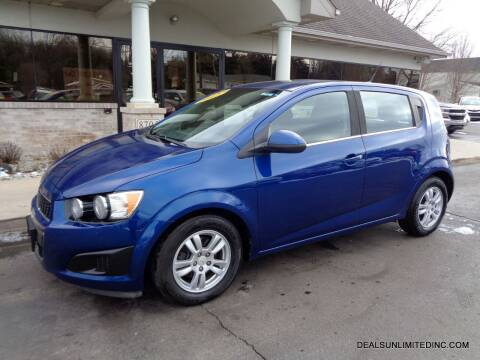 2012 Chevrolet Sonic for sale at DEALS UNLIMITED INC in Portage MI