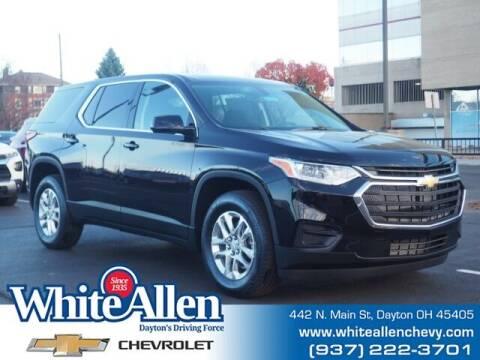 2021 Chevrolet Traverse for sale at WHITE-ALLEN CHEVROLET in Dayton OH