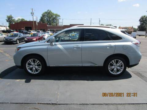2010 Lexus RX 450h for sale at Taylorsville Auto Mart in Taylorsville NC