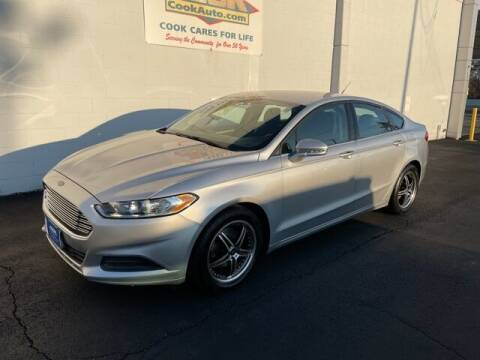 2016 Ford Fusion for sale at Ron's Automotive in Manchester MD