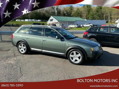 2005 Audi Allroad for sale at BOLTON MOTORS INC in Bolton CT