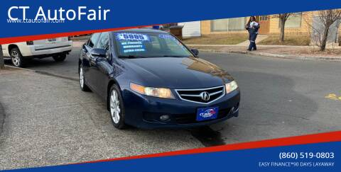 2008 Acura TSX for sale at CT AutoFair in West Hartford CT