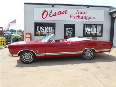1967 Ford Galaxie 500 for sale at OLSON AUTO EXCHANGE LLC in Stoughton WI