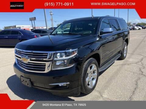 2015 Chevrolet Suburban for sale at SOUTHWEST AUTO GROUP-EL PASO in El Paso TX