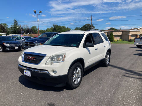 2011 GMC Acadia for sale at Majestic Automotive Group in Cinnaminson NJ