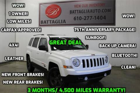 2016 Jeep Patriot for sale at Battaglia Auto Sales in Plymouth Meeting PA