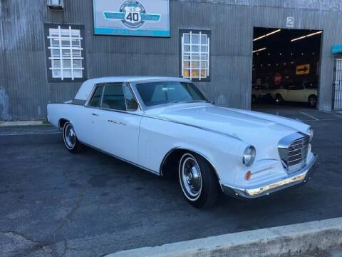 1963 Studebaker Hawk for sale at Route 40 Classics in Citrus Heights CA