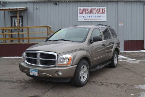 2005 Dodge Durango for sale at Dave's Auto Sales in Winthrop MN