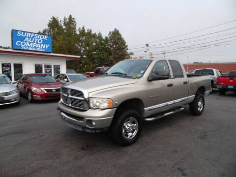 2004 Dodge Ram Pickup 2500 for sale at Surfside Auto Company in Norfolk VA