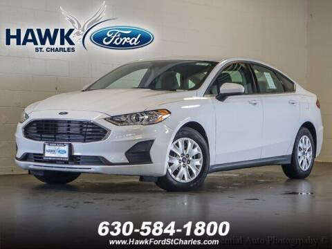 2020 Ford Fusion for sale at Hawk Ford of St. Charles in St Charles IL