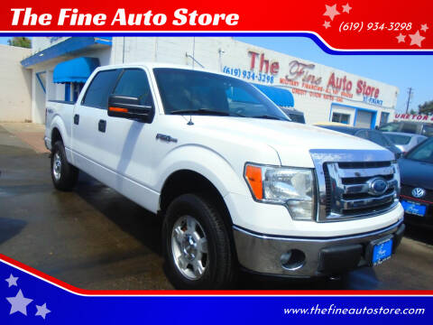 2011 Ford F-150 for sale at The Fine Auto Store in Imperial Beach CA