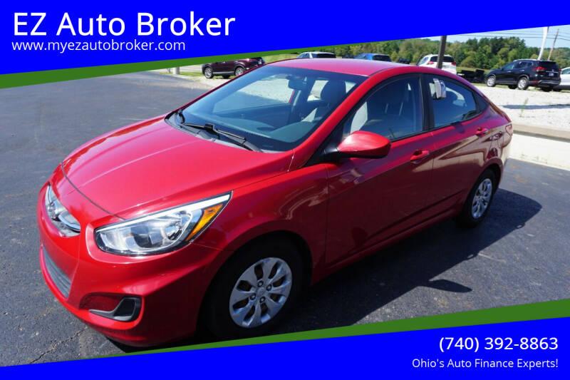 2016 Hyundai Accent for sale at EZ Auto Broker in Mount Vernon OH