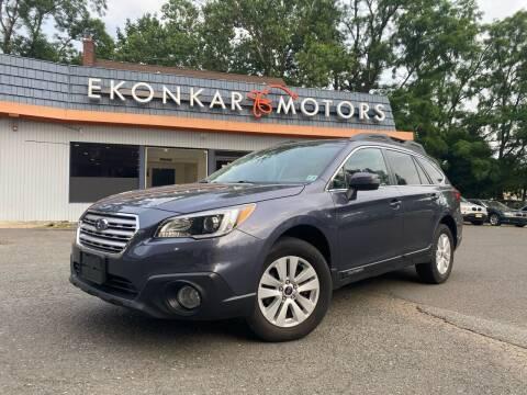 2016 Subaru Outback for sale at Ekonkar Motors in Scotch Plains NJ