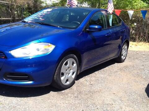 2014 Dodge Dart for sale at Lance Motors in Monroe Township NJ