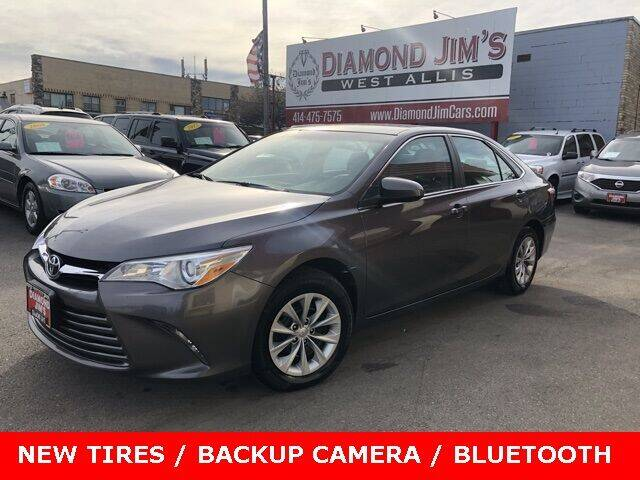 2015 Toyota Camry for sale at Diamond Jim's West Allis in West Allis WI