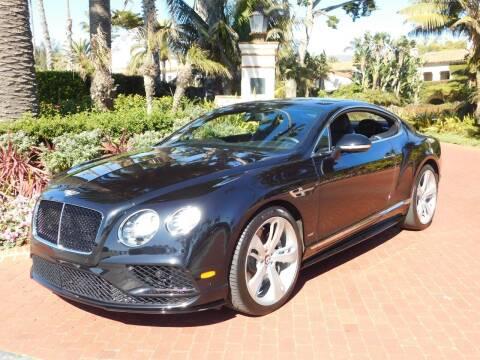2017 Bentley Continental for sale at Milpas Motors in Santa Barbara CA