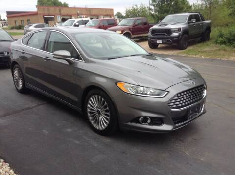 2013 Ford Fusion for sale at Bruns & Sons Auto in Plover WI