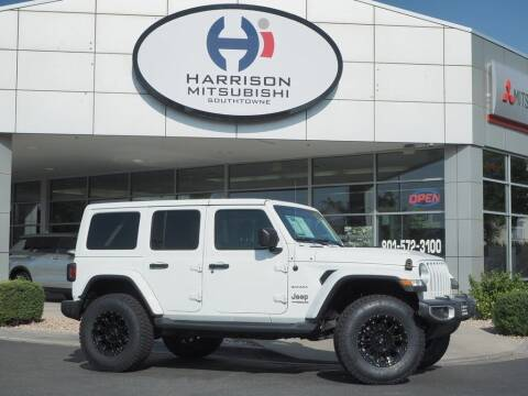 2018 Jeep Wrangler Unlimited for sale at Harrison Imports in Sandy UT