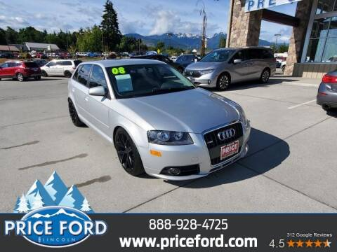 2008 Audi A3 for sale at Price Ford Lincoln in Port Angeles WA