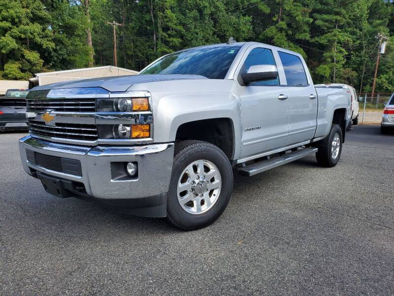 2015 Chevrolet Silverado 2500HD for sale at Brown's Used Auto in Belmont NC
