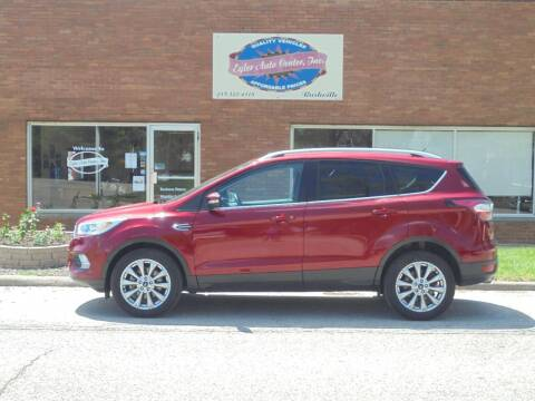 2017 Ford Escape for sale at Eyler Auto Center Inc. in Rushville IL