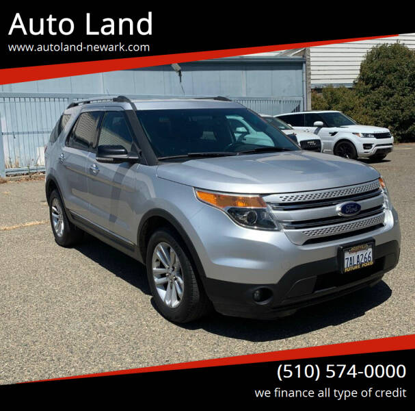 2013 Ford Explorer for sale at Auto Land in Newark CA