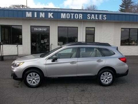 2018 Subaru Outback for sale at MINK MOTOR SALES INC in Galax VA