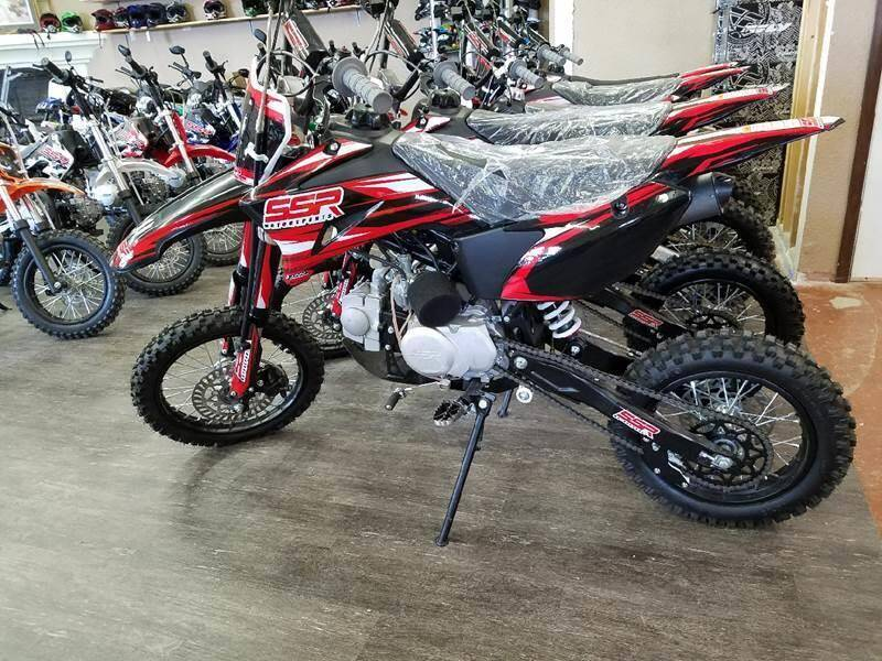 2021 SSR 125TR for sale at Toy Barn Motors - Dirt Bikes in New York Mills MN