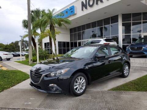2016 Mazda MAZDA3 for sale at Mazda of North Miami in Miami FL