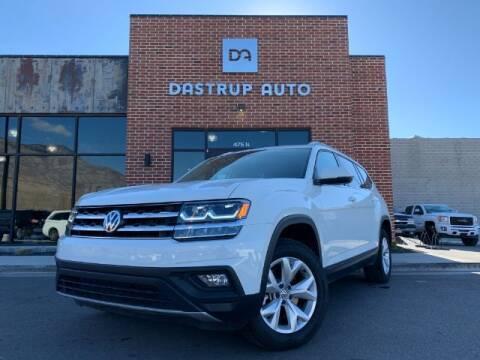 2019 Volkswagen Atlas for sale at Dastrup Auto in Lindon UT