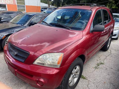 2003 Kia Sorento for sale at P J Auto Trading Inc in Orlando FL