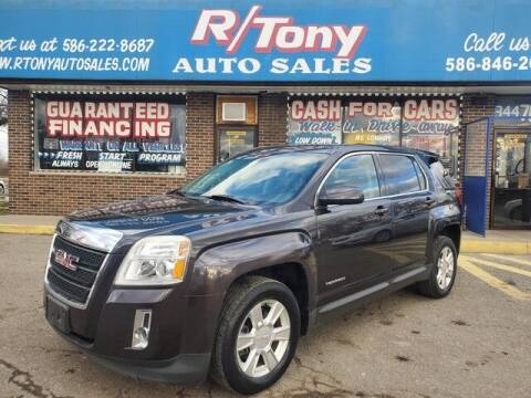 2013 GMC Terrain for sale at R Tony Auto Sales in Clinton Township MI